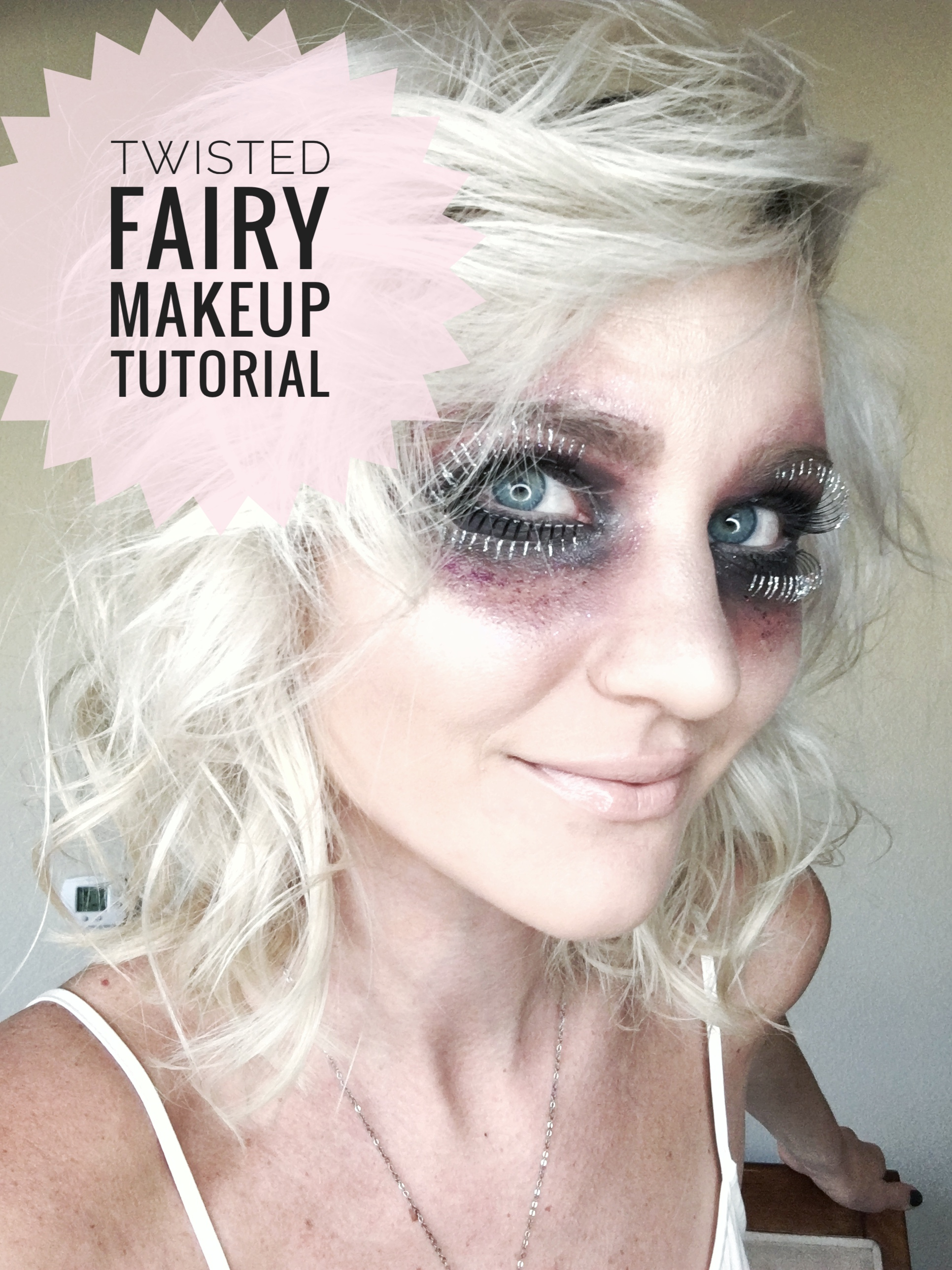 Halloween makeup tutorialtwisted fairy the nomis niche baditri Images