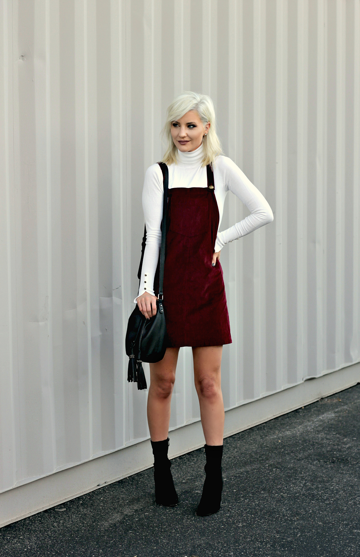 HOW TO STYLE AN OVERALL DRESS