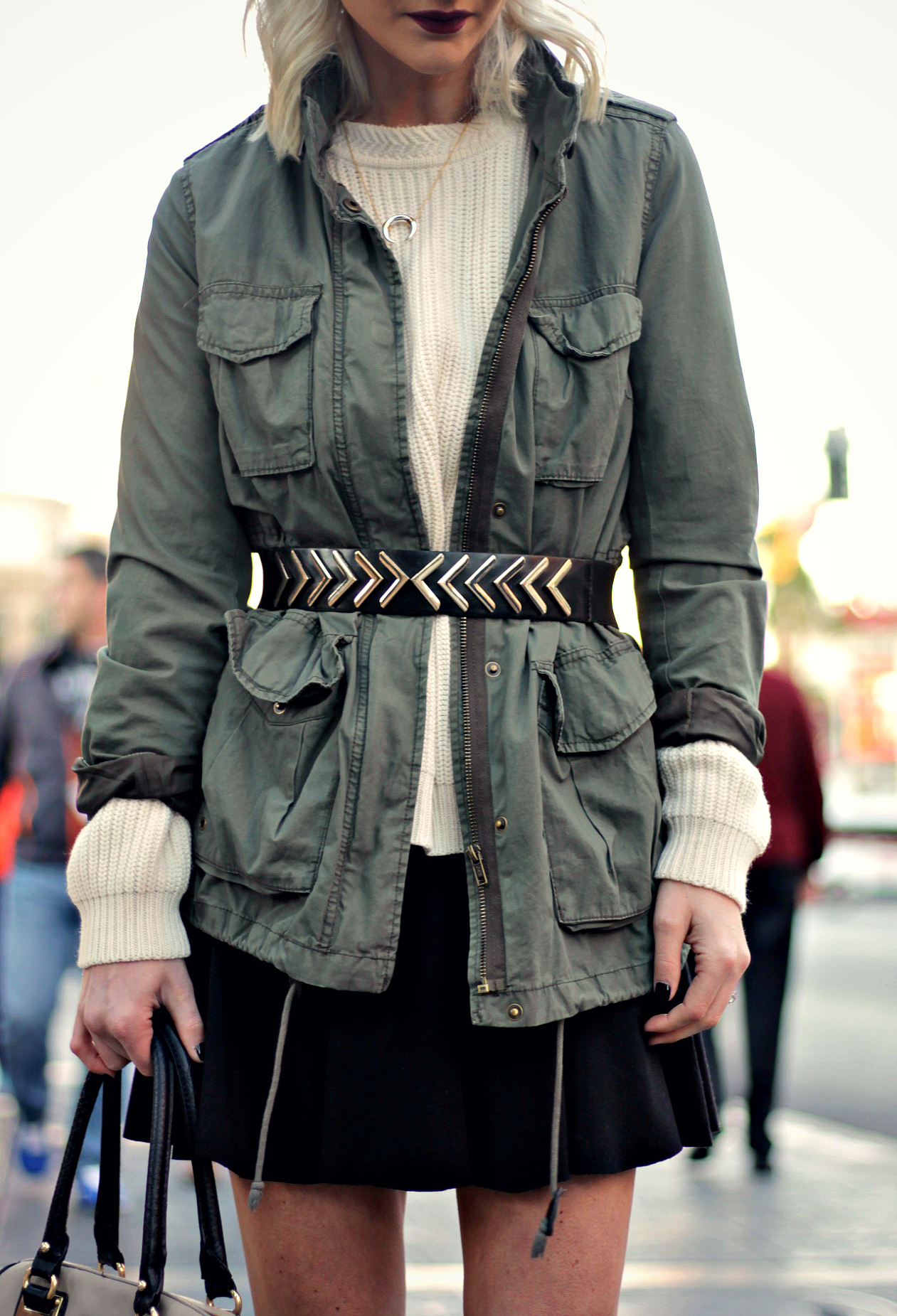 WINTER OUTFIT INSPO: BELT YOUR OUTERWEAR